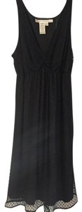 Max Studio Cocktail Black Lace Sheath Dress