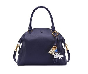 Tory Burch Satchel in tory navy