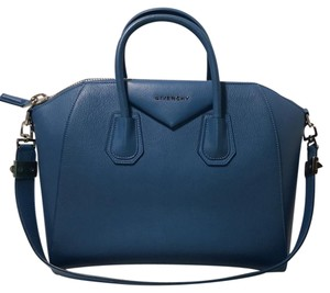Givenchy Satchel in mineral blue