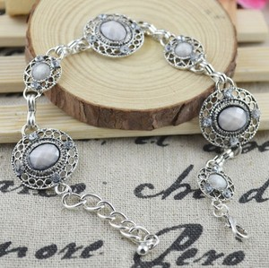 Silver/Gray Bogo Free Antiqued Free Shipping Bracelet