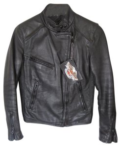 Harley Davidson Vintage Leather Motorcycle Leather Jacket