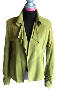 Anne Klein Olive Leather Jacket