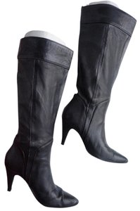 Fornarina Midcalf Madeinitaly Chic Black Boots