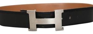 Herms HERMES Leather Constance H Buckle Belt