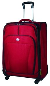"""American Tourister Luggage Spinner Suitcase Vacation Ilitedlx I Lite D Luxe 29"""" 29"""" Luggage 29"""" Luggage 29"""" Luggage Luggage 29"""" RED Travel Bag"""