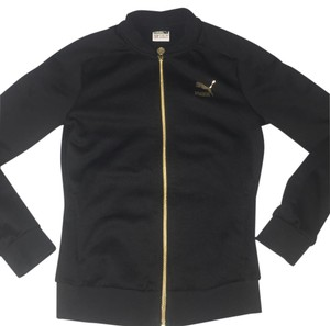 Puma black and gold Jacket