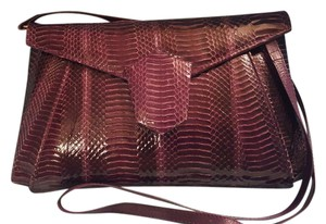 J. Renee Snakeskin Cross Body Bag