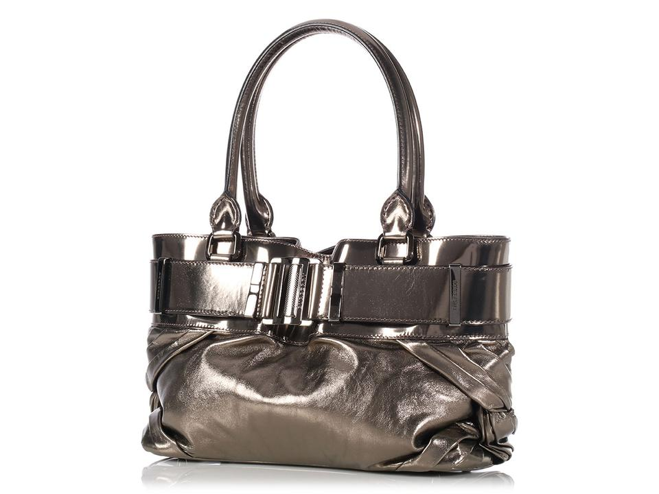 Burberry   sold On Afc   Small Knotted Bronze Healy Tote - Tradesy 87950a7f1f974