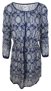 Max Studio short dress Blue Paisley on Tradesy