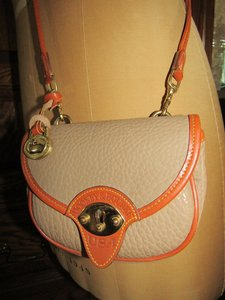 Dooney & Bourke And And Leather Messenger Cross Body Bag