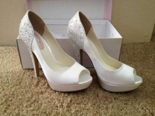 Paradox London Pink White Sparkly Formal Size US 8.5
