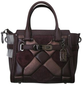 Coach New With Tag Satchel in oxblood