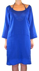 Maison Margiela short dress royal blue Transfomer on Tradesy