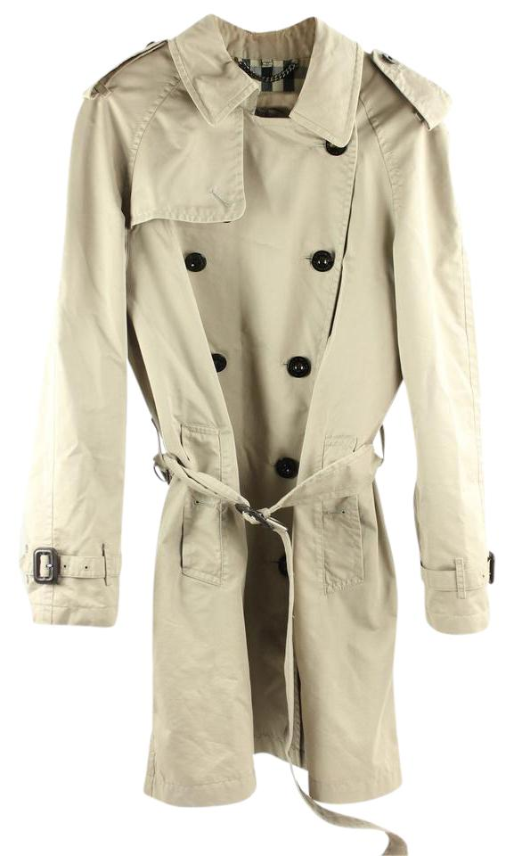 20c5beef8c3 Burberry London Beige Trench Coat Mhmlm3 Jacket. Size  18 ...