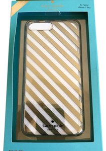 Kate Spade NWT MARKET STREET STRIPE IPHONE 7 PLUS SNAP ON CASE