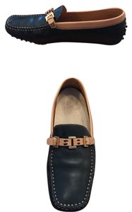Tod's Black/Brown Flats