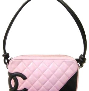 Chanel Ligne Cambon Baguette Handbag Shoulder Bag