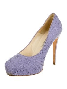 Brian Atwood Lilac Purple Pumps