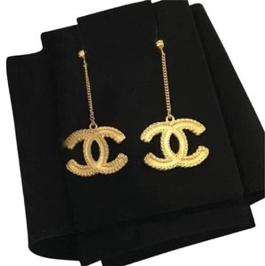 Chanel chanel cc dangle earrings