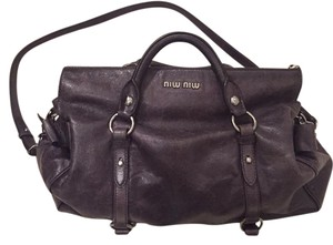 Miu Miu Bow Vitello Shoulder Bag