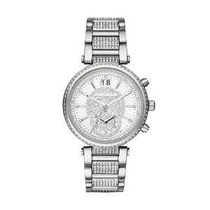Michael Kors Michael Kors Women's Sawyer Silver-Tone Watch MK6281