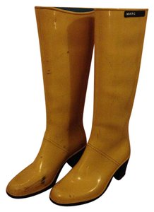 Marc by Marc Jacobs Rubber Yellow Boots