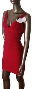 Herv Leger Bandage Sexy Tight Dress