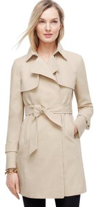 Ann Taylor Trench Classic Nautical Trench Coat