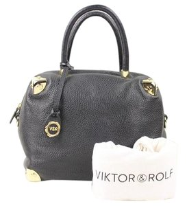 VIKTOR & ROLF Satchel in black