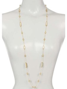 House of Harlow 1960 Long Rains Station Necklace