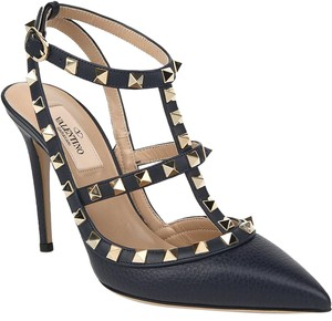 Valentino Brand New In Box NAVY BLUE Pumps