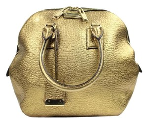 Burberry Satchel in Gold