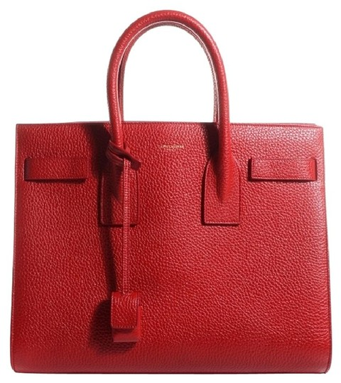 Preload https://img-static.tradesy.com/item/20498290/saint-laurent-sac-de-jour-ysl-small-tote-red-leather-satchel-0-0-540-540.jpg