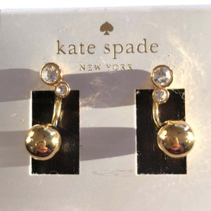 Kate Spade Kate Spade gold earrings