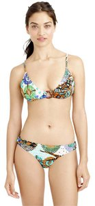 J.Crew J.CREW NWT Abstract Giraffe Floating Ring Swim Bikini Set