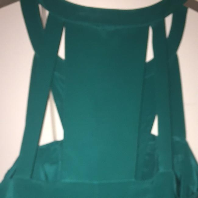 BCBGMAXAZRIA Top Emerald