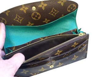Louis Vuitton 2011 Louis Vuitton MONOGRAM Green EMILIE WALLET