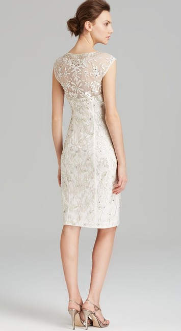 Sue Wong Embroidered Sequin Sheath N4163 Dress