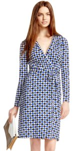 Diane von Furstenberg New Wrap Print Dress