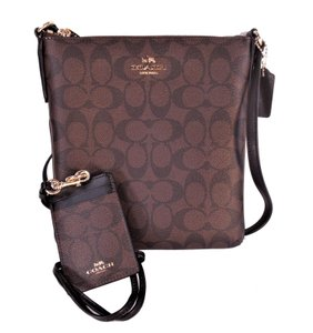 Coach C-series Tablet Lanyard Id Cross Body Bag