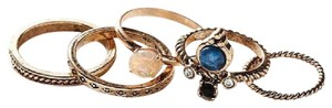 Urban Outfitters NWT Solstice Stone Ring Pack