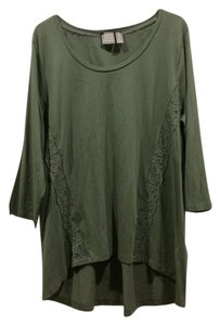 Chico's T Shirt green