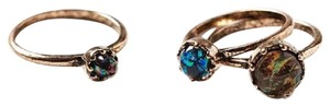 Urban Outfitters NWT Gemstone Ring Pack
