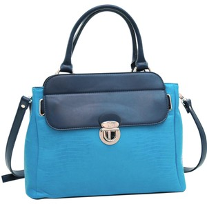 Other Classic The Treasured Hippie Vintage Large Handbags Satchel in Blue