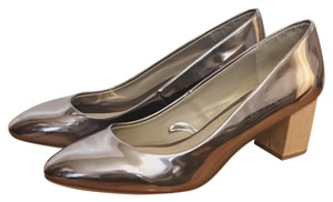 Zara Metallic Pumps