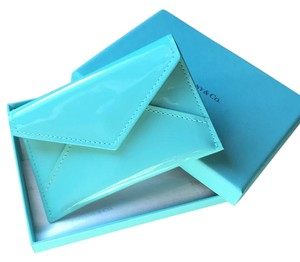Tiffany & Co. TLC Tiffany leather collection snap cars case in Tiffany blue patent leather
