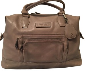 Longchamp Satchel in clay gray