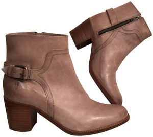 b04fe23486b Frye Sand Womens Reina Leather Ankle 9-m Boots/Booties Size US 9 ...