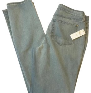 NYDJ Straight Leg Jeans-Light Wash