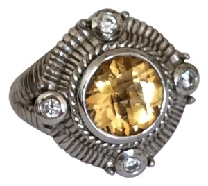 Judith Ripka Citrine ring